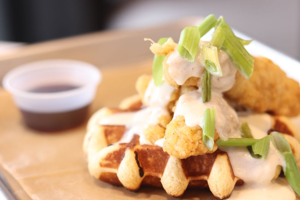 Food from XO Waffle