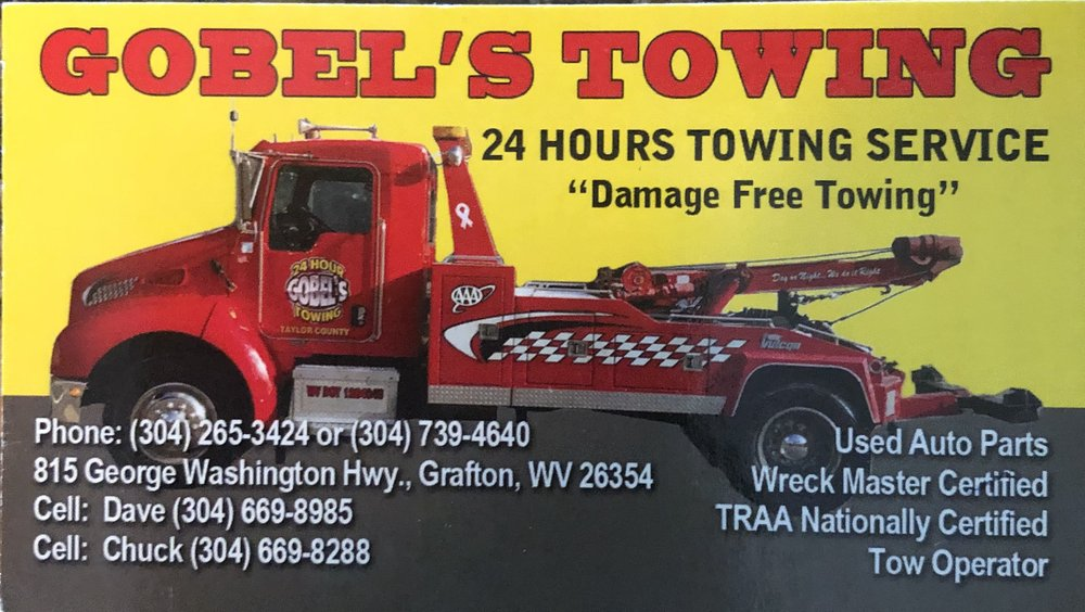 Towing business in Fairmont, WV