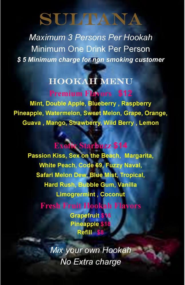 Sultana Hookah Lounge: 3 E 3rd St, Bethlehem, PA