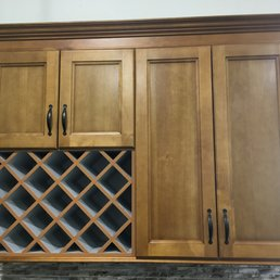 Photo Of Prime Kitchen Cabinets Port Coquitlam Bc Canada Wine Shelving Built
