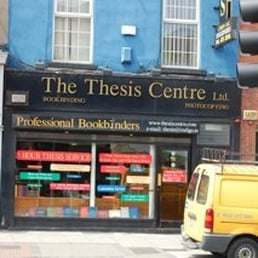 thesis centre dublin camden street Thesis binding and printing  anyone know of anywhere in city centre or even dublin 15 that i  from what i've heard the thesis centre on camden street.