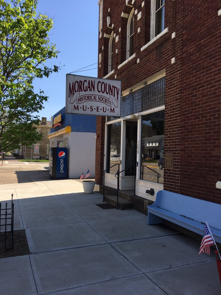 Morgan County Historical Society: 142 East Main St, McConnelsville, OH