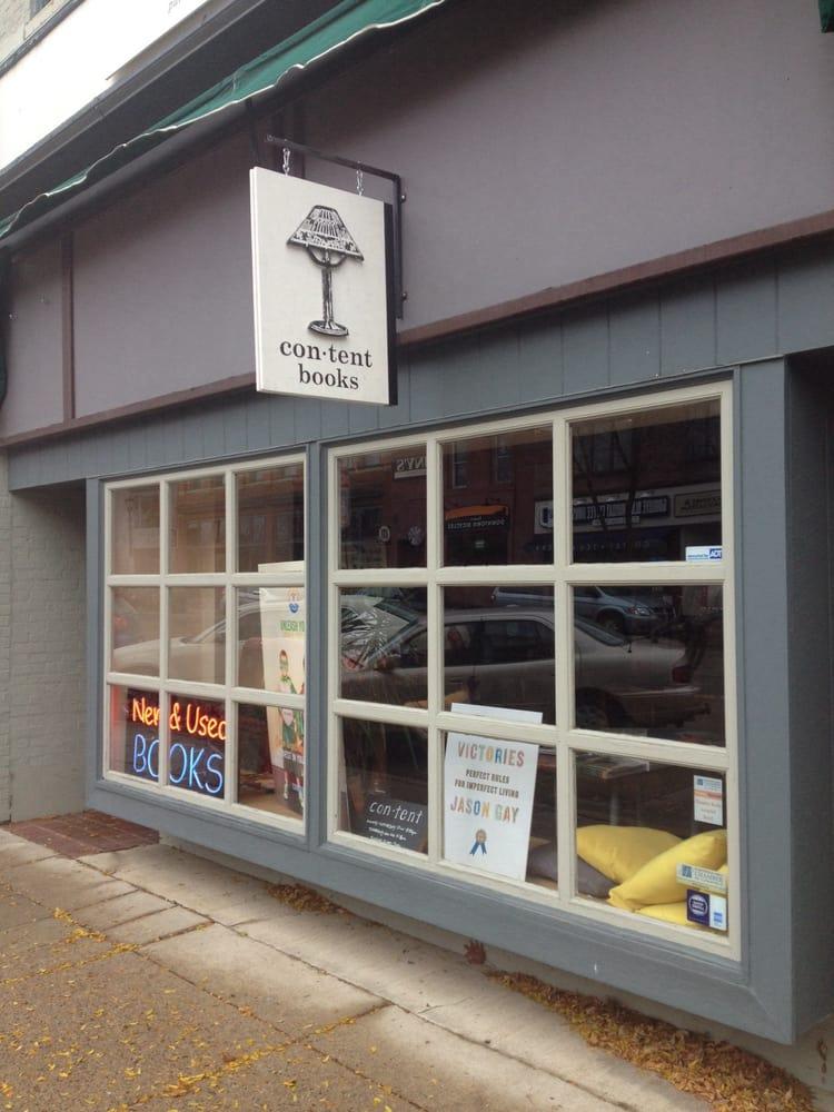 Content Bookstore: 314 Division St S, Northfield, MN