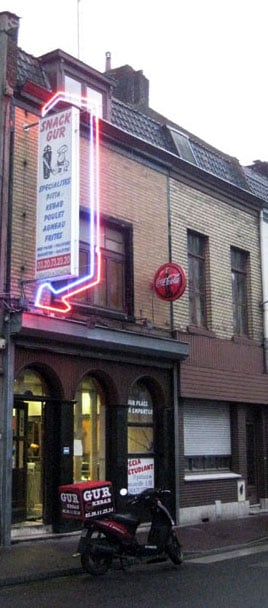 gur kebab - fast food - 107 grande rue, roubaix, nord, france