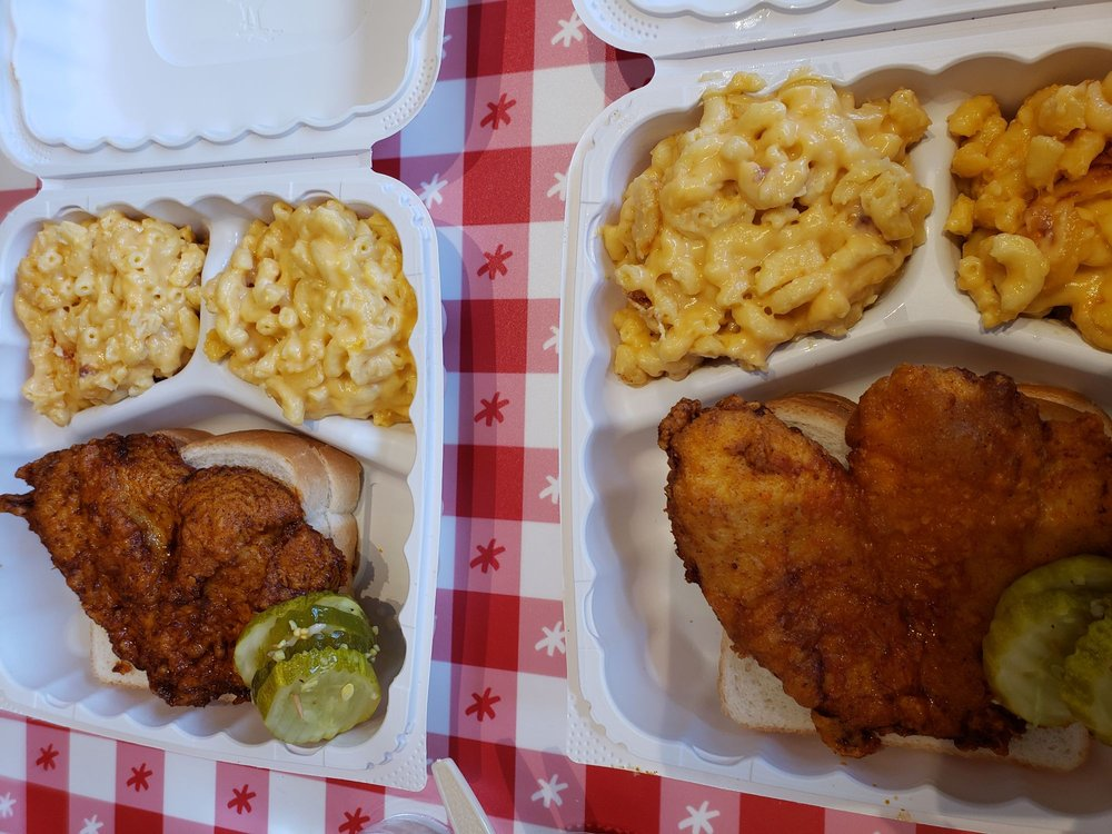 Food from Hot Chicken Takeover