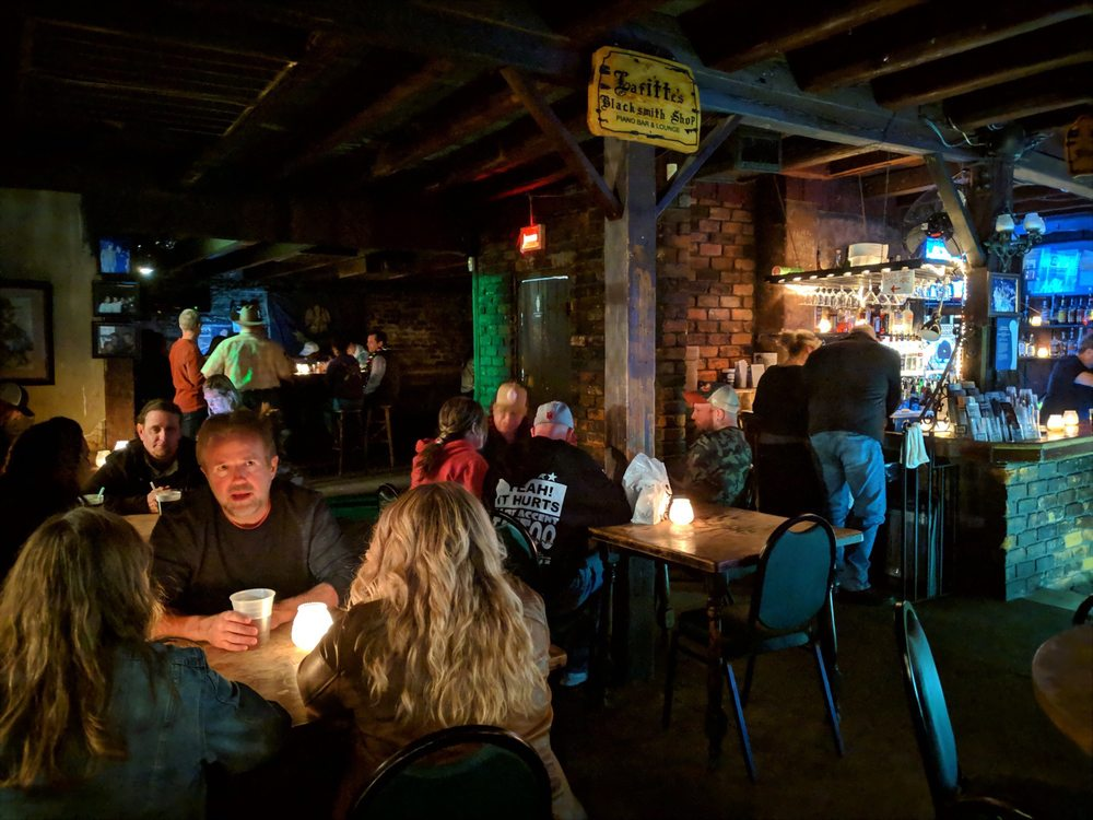 Lafitte's Blacksmith Shop Bar: 941 Bourbon St, New Orleans, LA