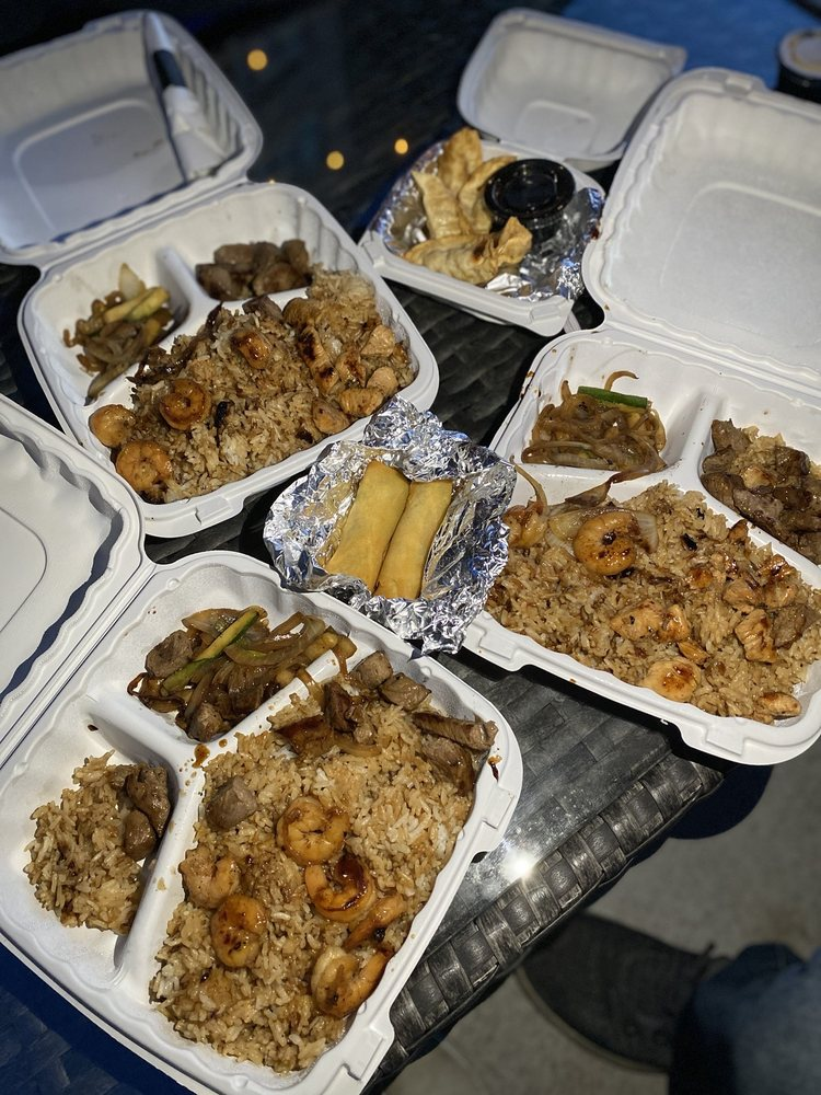 Food from Jade Hibachi Grill