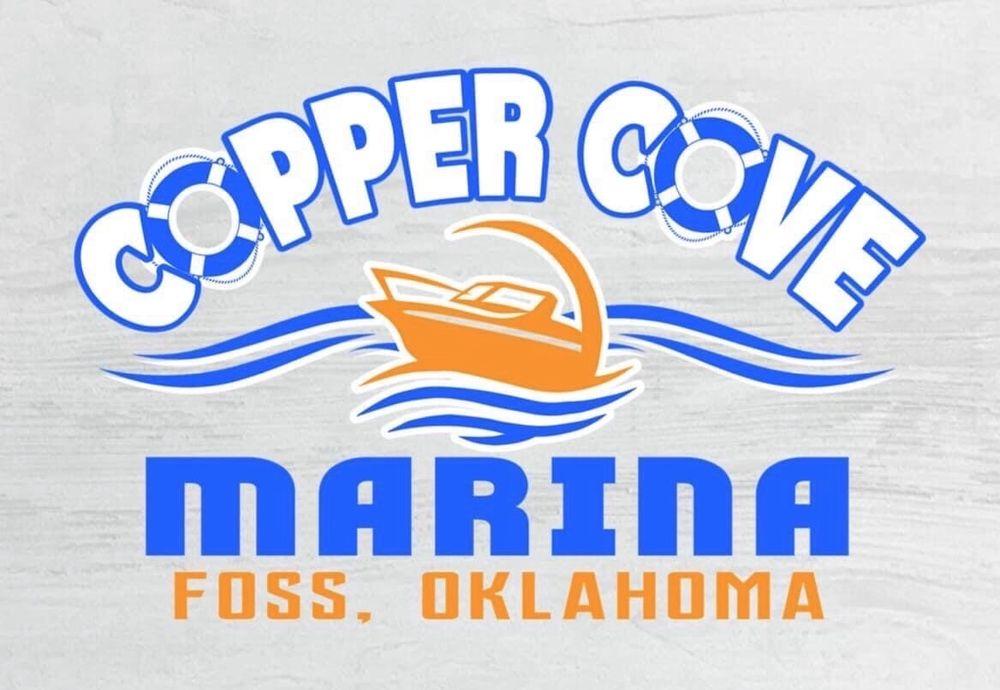 Copper Cove Marina & Rentals: 1 Marina Rd, Foss, OK