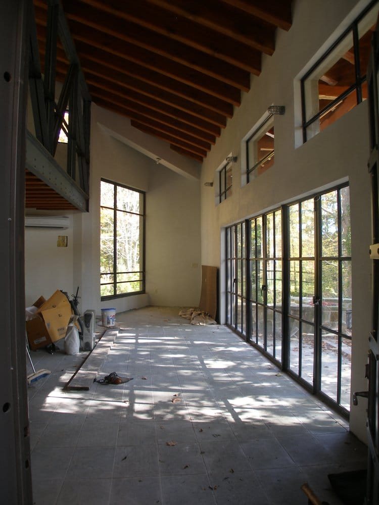 Center Pivot Window And Terrace French Doors All Made