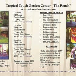 Tropical Touch Garden Center Venues Event Spaces 18701 Sheridan St Fort Lauderdale Fl