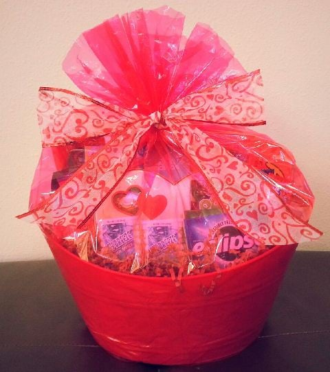 2713 all wrapped up custom teen valentines day gift basket yelp photo of honey child gifts gift baskets san jose ca united states negle Choice Image