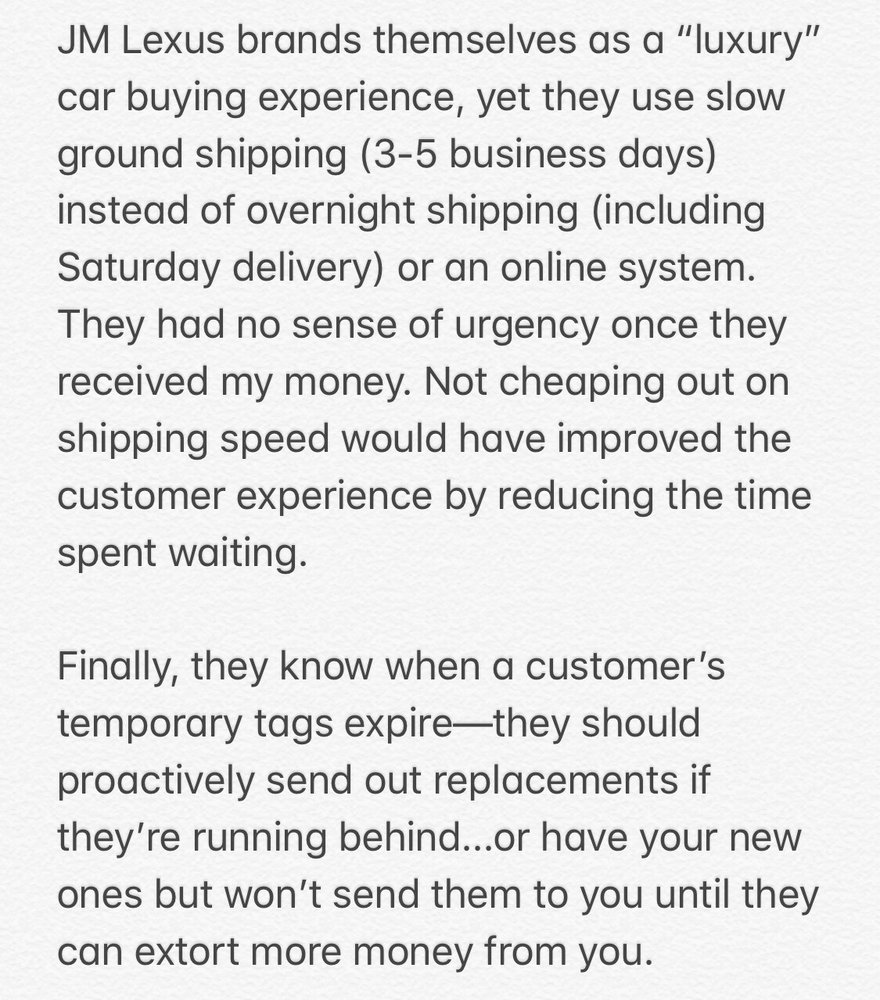 JM Lexus - (New) 182 Photos & 253 Reviews - Dealerships