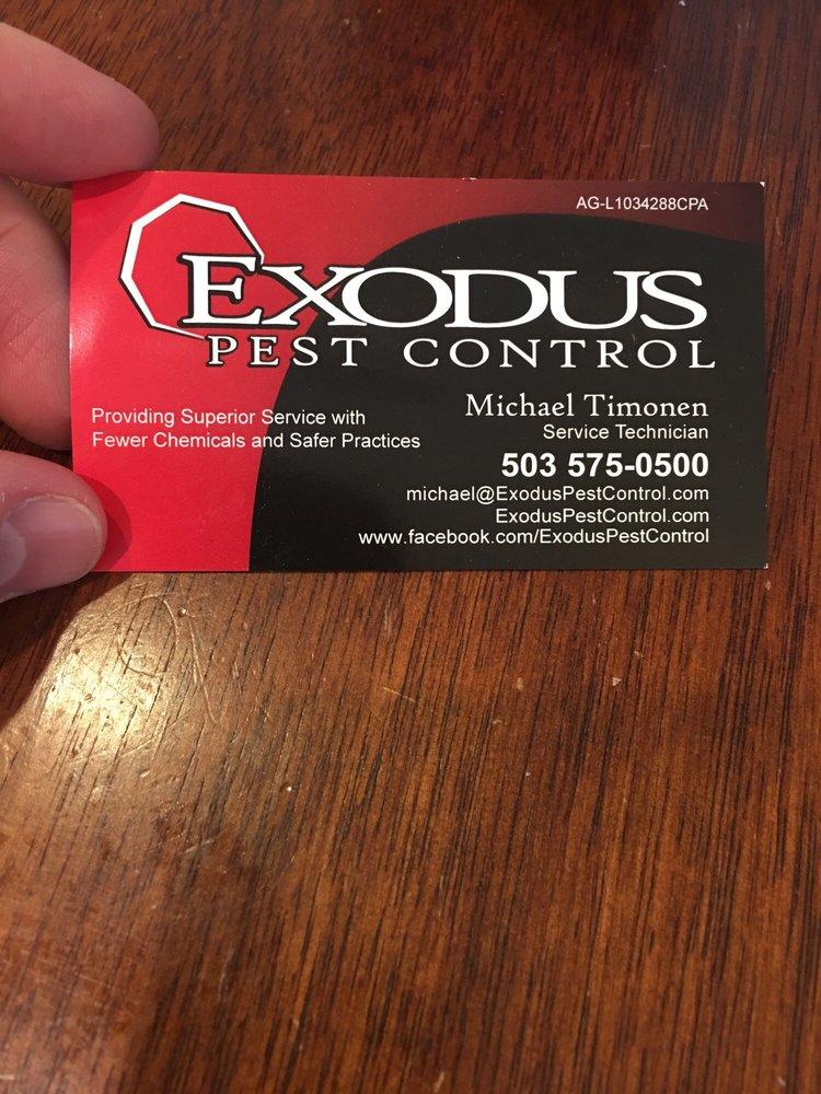 Exodus Pest Control: 7325 NE Imbrie Dr, Portland, OR