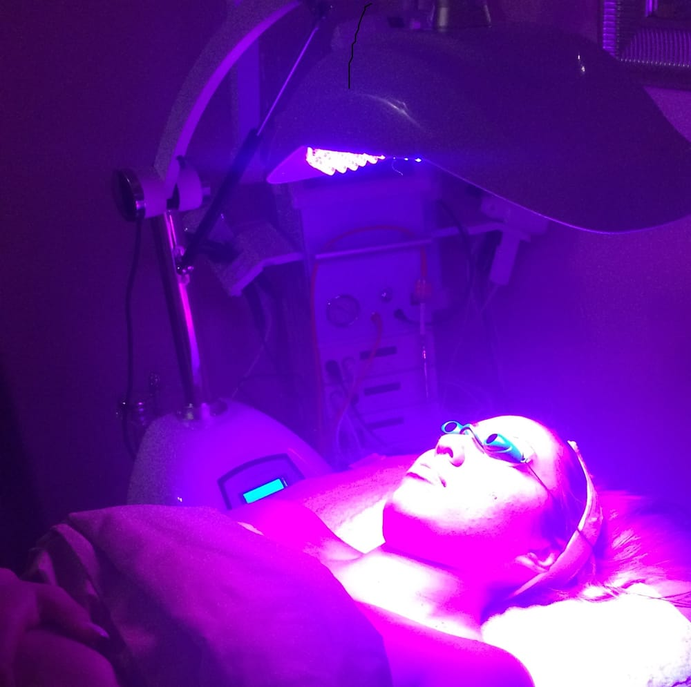Led light therapy yelp for Le belle salon