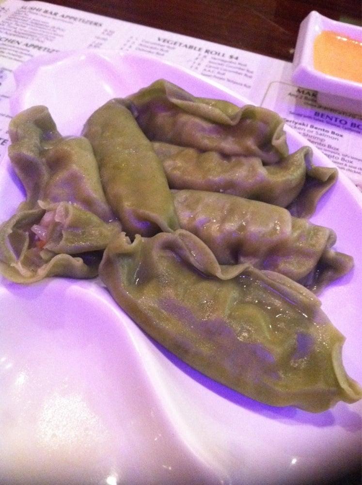 steamed veggie dumpling yelp On aji asian cuisine secaucus