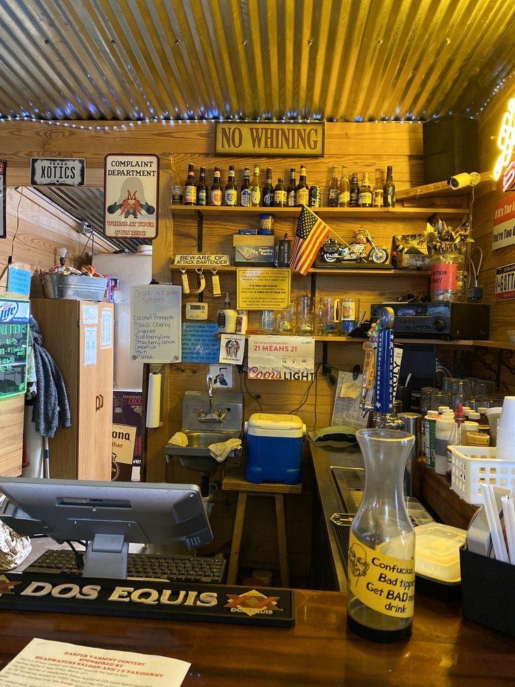 Headwaters Saloon: 229 S Ranch Rd 783, Harper, TX