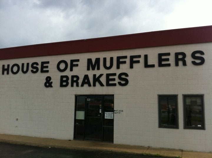 House of Mufflers and Brakes: 2920 Cornhusker Hwy, Lincoln, NE