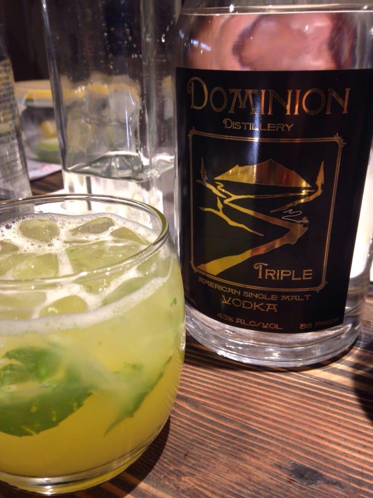 Dominion Distillery: 116 N Main St, Colville, WA
