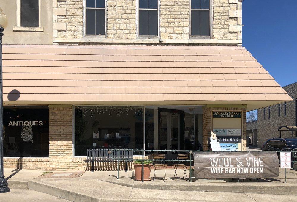 Wool and Vine: 415 E 3rd St, Lampasas, TX