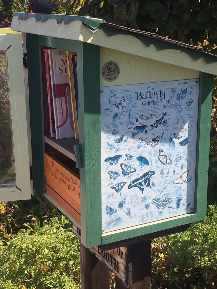 Little Free Library: 7912 Flight Ave, Los Angeles, CA