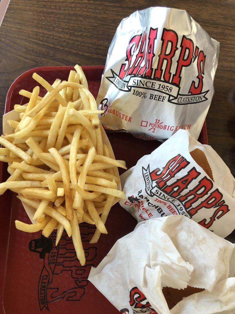 Sharp's Burger Ranch: 1241 Bridge St, Clarkston, WA