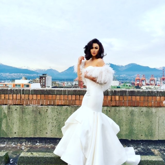 Madison James wedding gown on the beautiful Alexandria- gown and ...