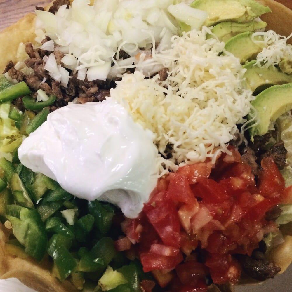 ... of Taqueria Lupita's - Detroit, MI, United States. Steak taco salad