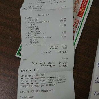 Photo Of Olive Garden Italian Restaurant Tulalip Wa United States