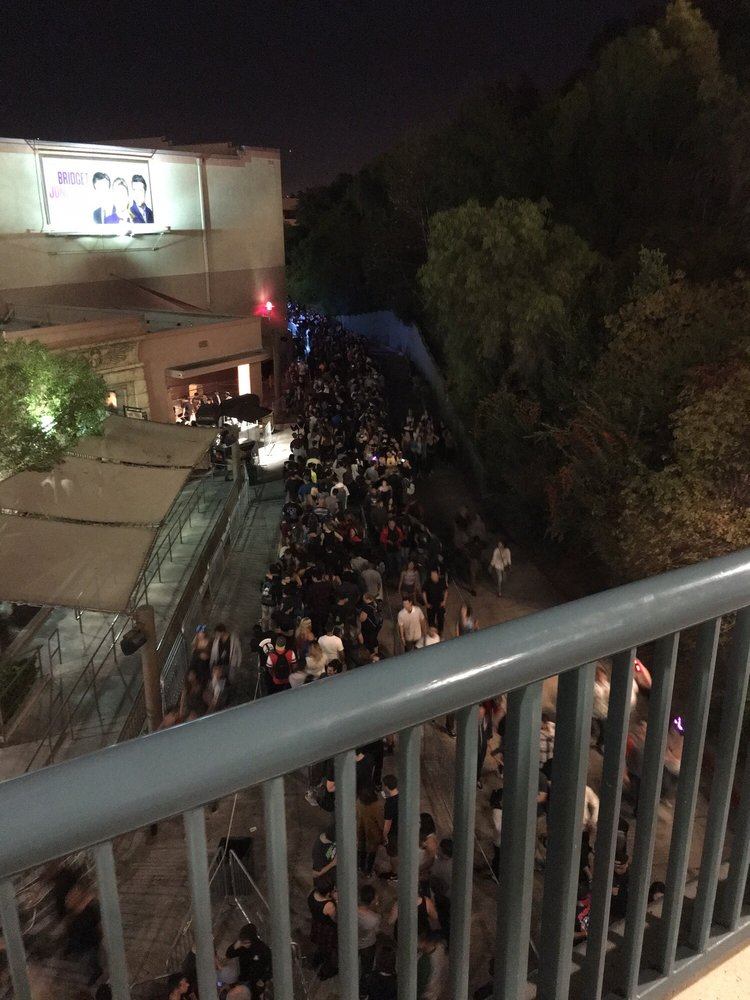 2916 some of the line for exorcist maze yelp