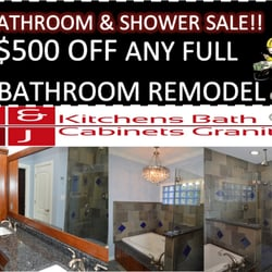 C&J Kitchens Bath Cabinets Granite - 15 Photos - Cabinetry ...