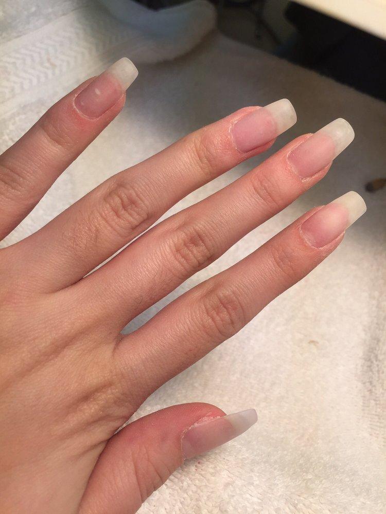 Kelly makes my fake nails look so real!! - Yelp