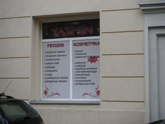 Salon Kosmetyczno Fryzjerski Yasmin Fryzjer Os Stalowe 13 Nowa