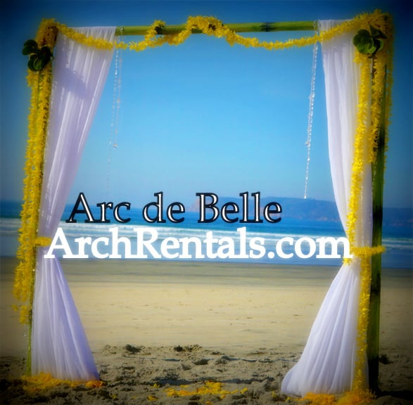 Bamboo Wedding Altar: Bamboo Wedding Altar,Arch,Canopy Available In Los Angeles