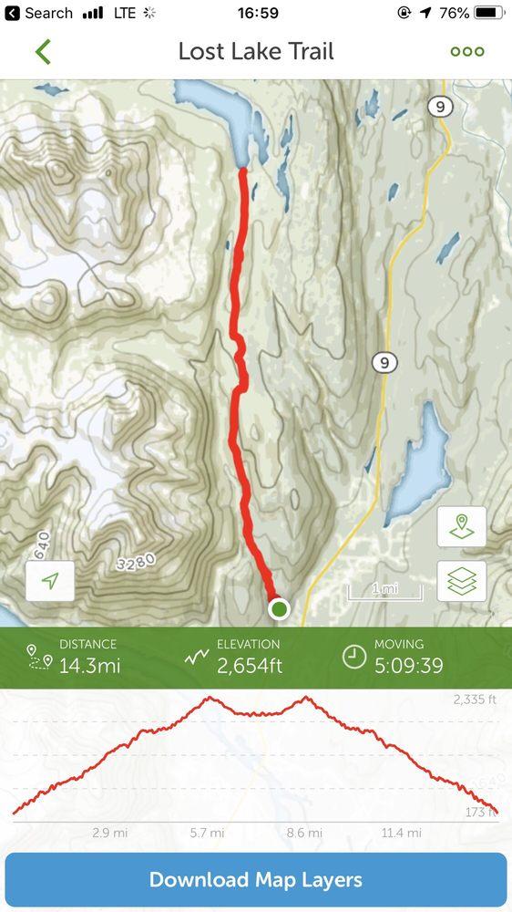 Lost Lake Trail: Scott Way, Bear Creek, AK