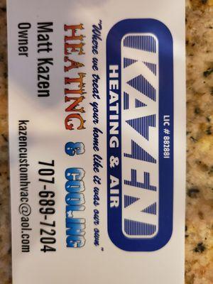 Kazen Custom Heating & Air