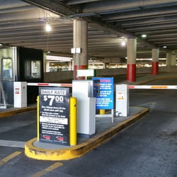 Photo Of Alewife Station   Cambridge, MA, United States. Entrance To Parking  Lot