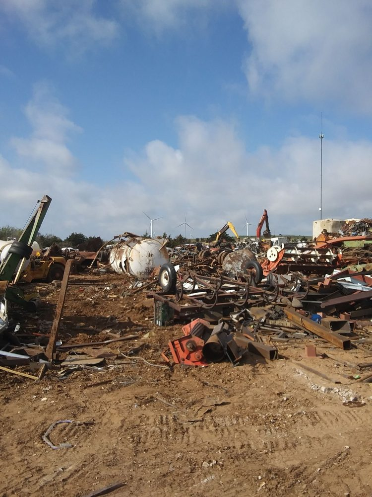 Western Oklahoma Metal Recycling: 10377 N 2400th Rd, Weatherford, OK