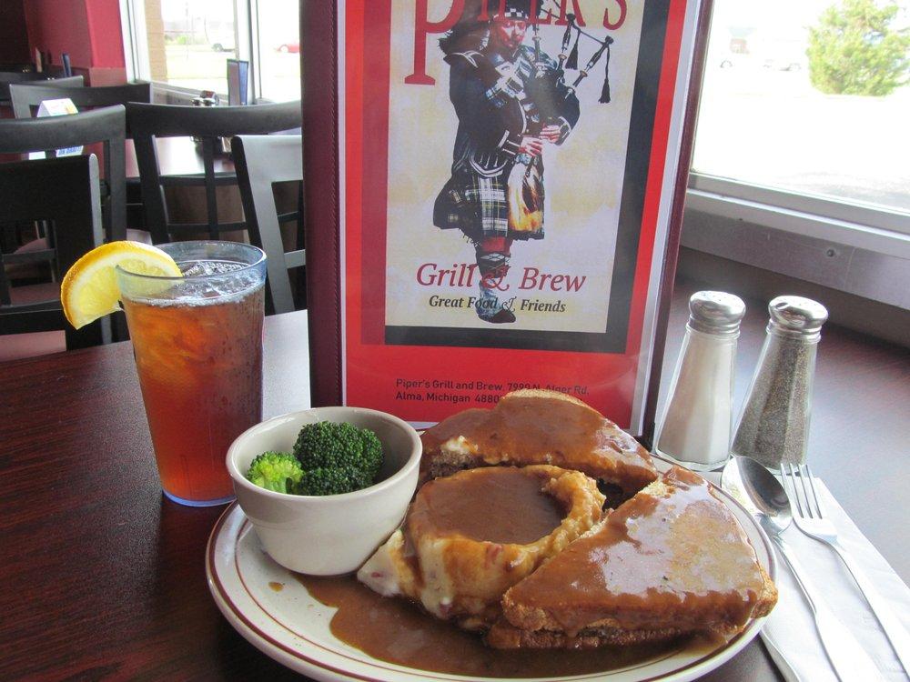 Piper's Grill & Brew: 7990 N Alger Rd, Alma, MI