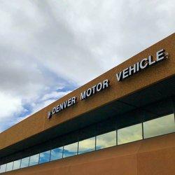 denver dmv location motor vehicle