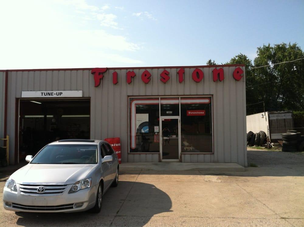 Mullen's Firestone & Auto Sales: 1005 E Broadway St, Covington, OH