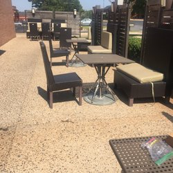 Photo Of Panera Bread   Oklahoma City, OK, United States. Outdoor Eating  Area