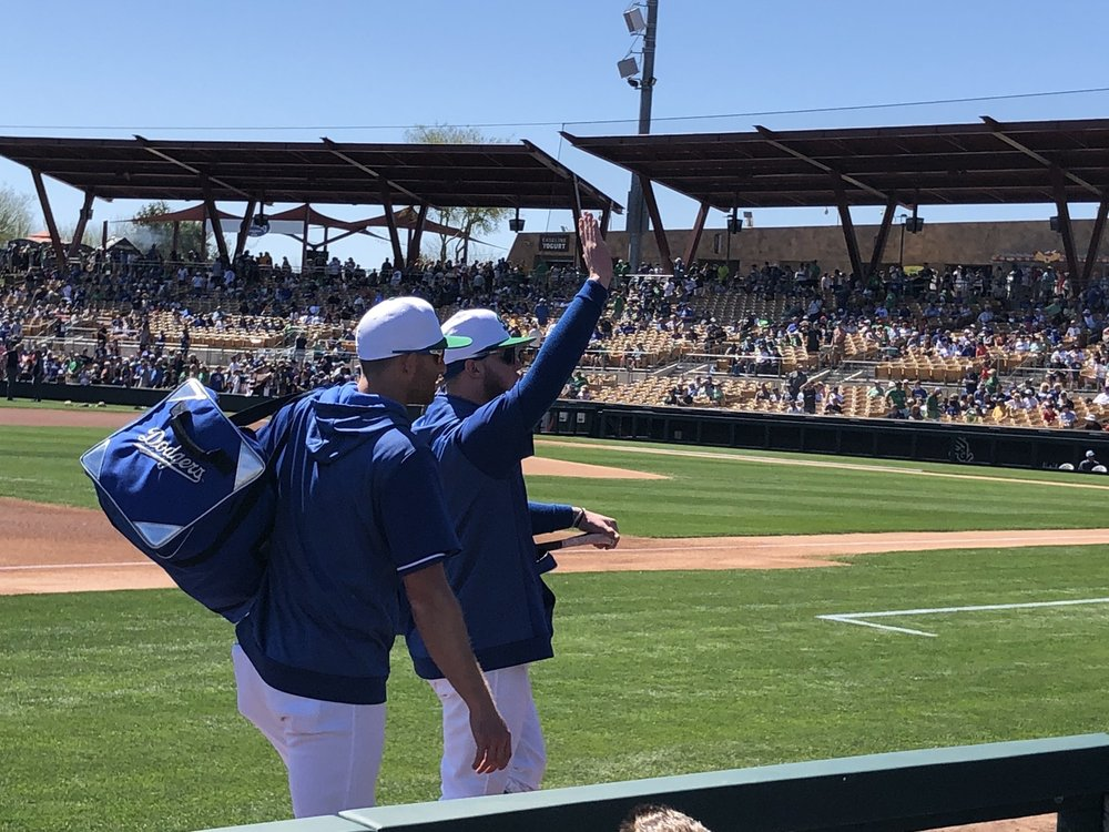 Los Angeles Dodgers- Spring Training
