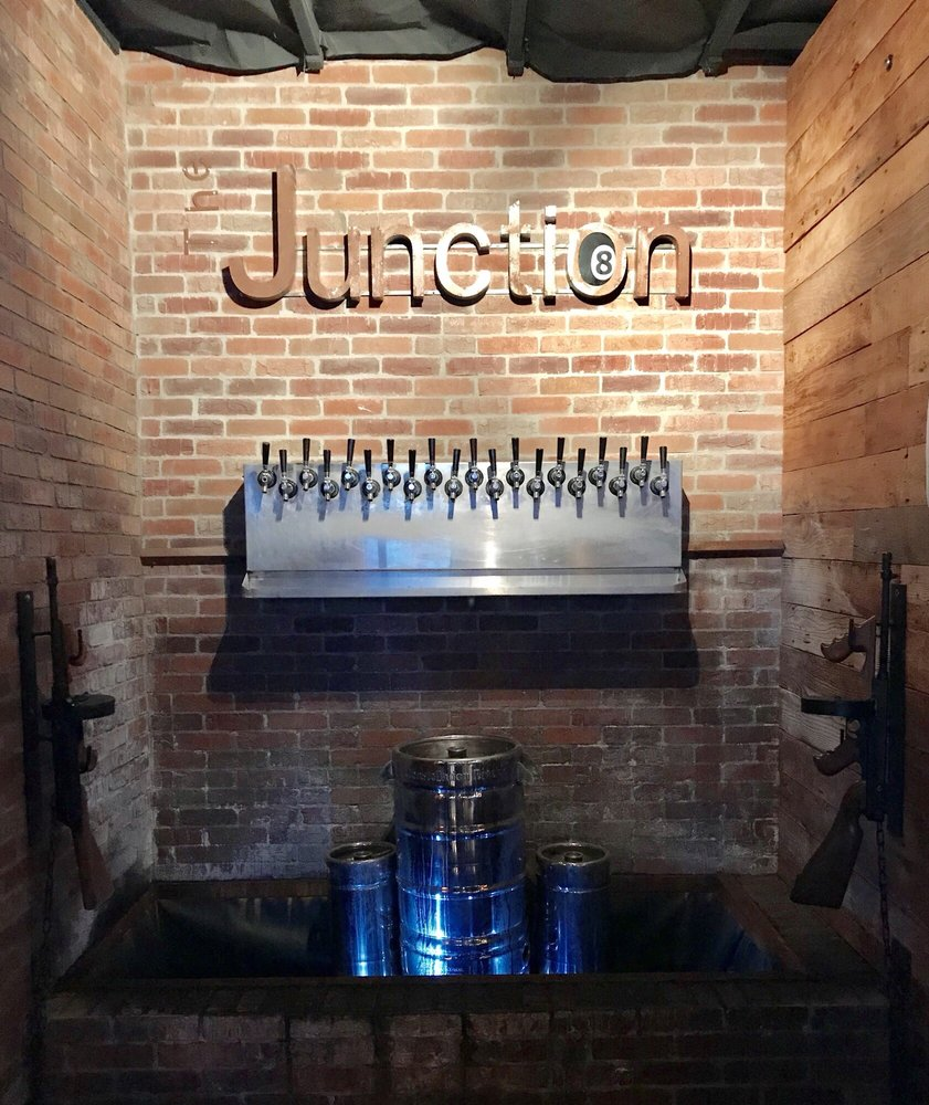 The Junction Bar - Billiards: 9370 Telegraph Rd, Downey, CA