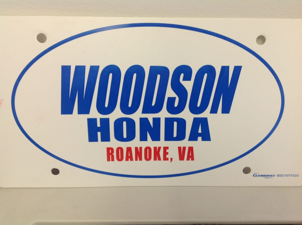 woodson honda 3311 peters creek rd roanoke va