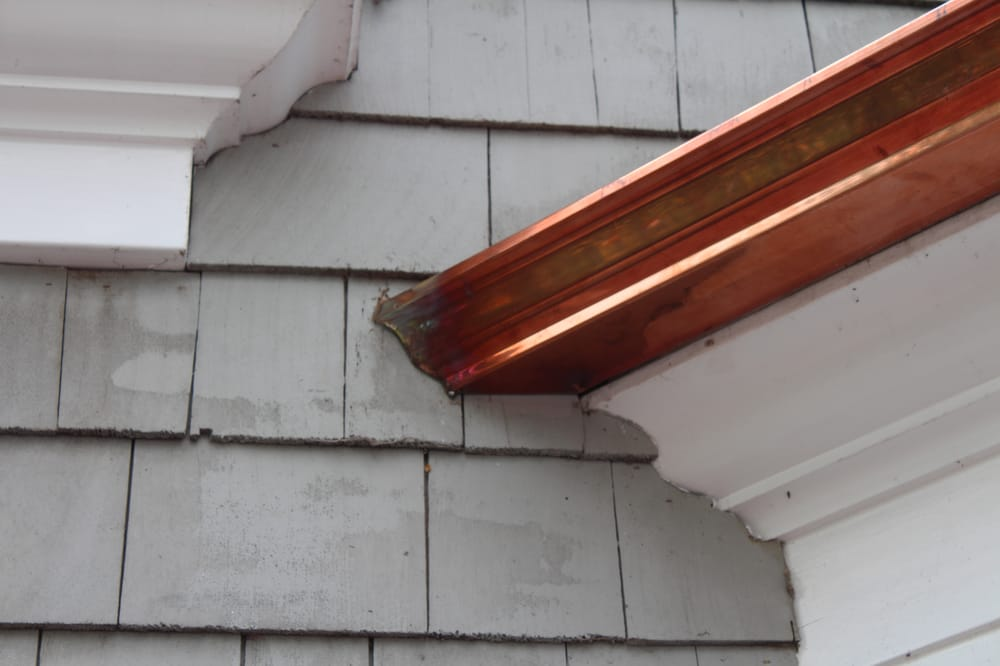 5 Inch Traditional K Style Rain Gutters In Copper