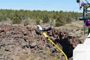 Central Oregon Bungee Adventures: P S Ogden Scenic Viewpoint, Bend, OR