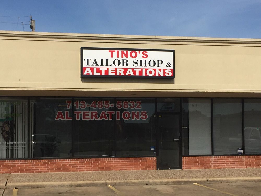 Tino's Tailor Shop: 1005 Edgebrook Dr, Houston, TX