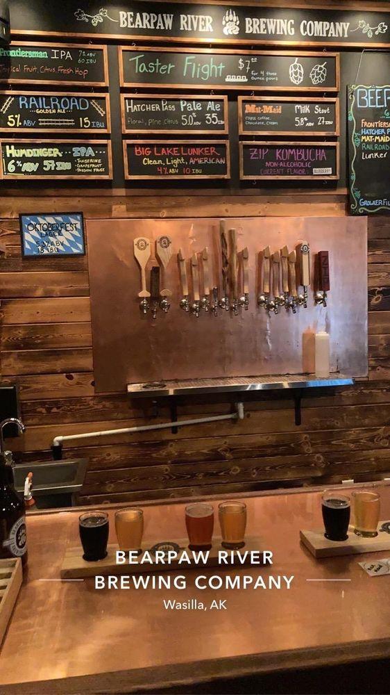 Bearpaw River Brewery: 4605 E Palmer-Wasilla Hwy, Wasilla, AK