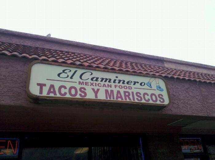 El' Caminero Mexican Food: 9204 N 7th St, Phoenix, AZ
