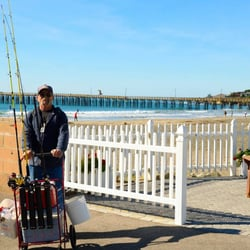 Photo Of Sline Inn Cayucos Ca United States Hubby With His Pier